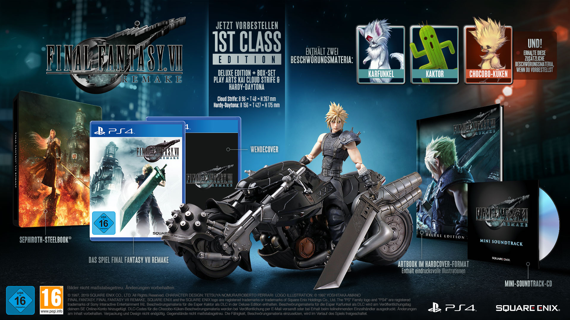 Versione Deluxe Edition del remake di Final Fantasy VII